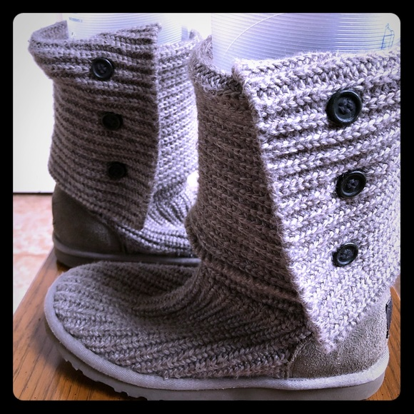 UGG Shoes - Ugg Classic Cardy Knit Boot Women's